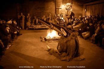 Hox Hox. Photo courtesy of the Lelooska Foundation.