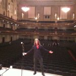 w/Jenny Dee at Symphony Hall (Boston, MA - December 31st, 2010)