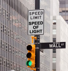 speed of light1 289x300 - Business At The Speed Of Light – What is a Millisecond Worth?
