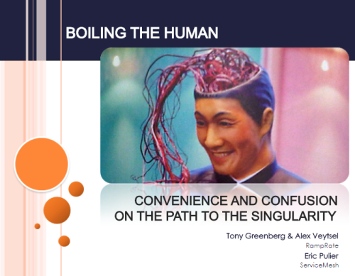 "boiling the Human - ""Boiling the Human"" H+ Summit Transcript/ Harvard-Kurzweil"