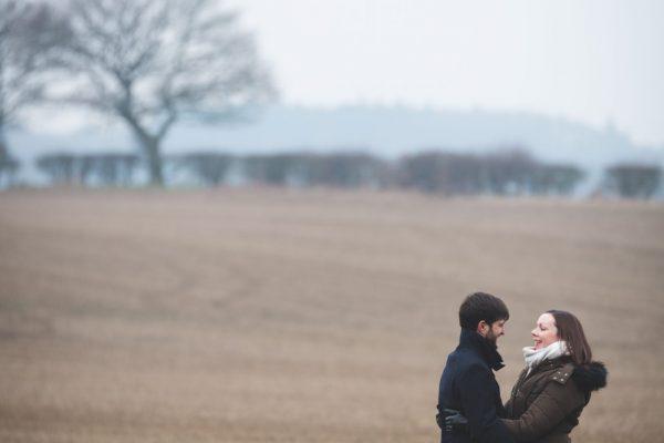 Countryside Wedding Engagement Shoot in West Midlands, UK - Wedding Photographer