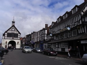 Bridgnorth town centre