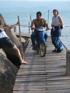 Shonky Pier with Bike 1