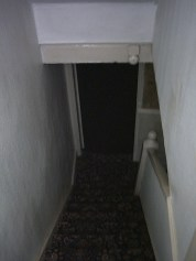 Stairs to beasement BEFORE