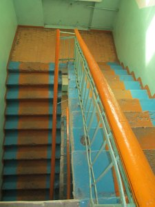 Lotus Guesthouse Stairs