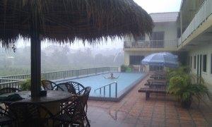 Sihanoukville-Hotel-pool-in-rain