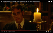 Me, in a screen grab from Ghost Stories for Christmas