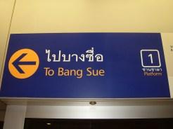 To Bang Sue Sign
