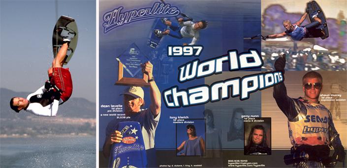 Klarich Lavelle Murray Hyperlite World Wakeboard Champions