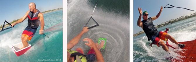 Klarich Water Ski 50 Cooler Guinness Picnic Table