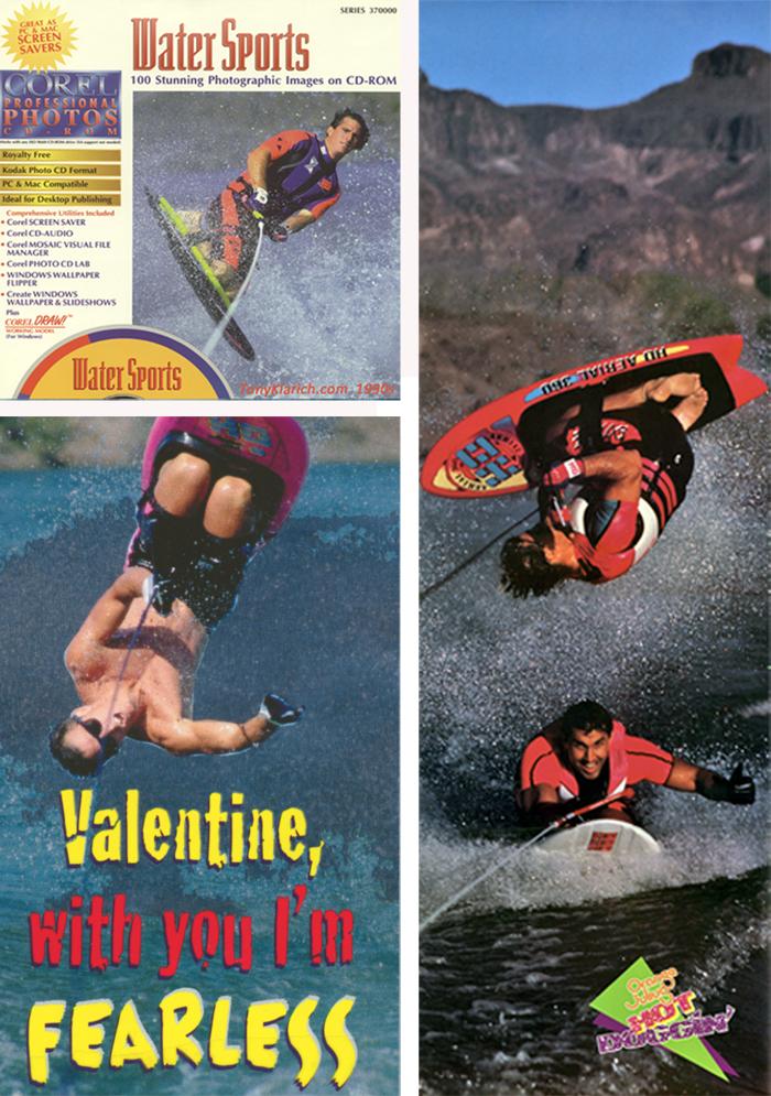 Klarich Water Skiing Kneeboarding Stock Photos CD Rick Doyle3