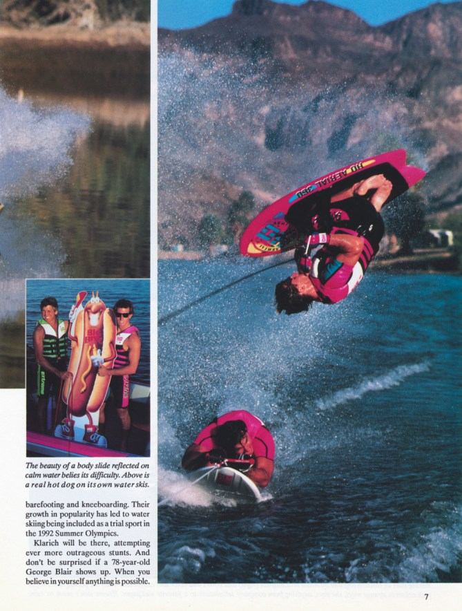 Nissan Hot Dog Water Skiing Klarich Kneeboarding Flip