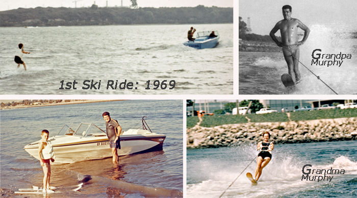 Tony Klarich 1st Water Ski Ride