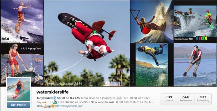 waterskierslife instagram tony klarich