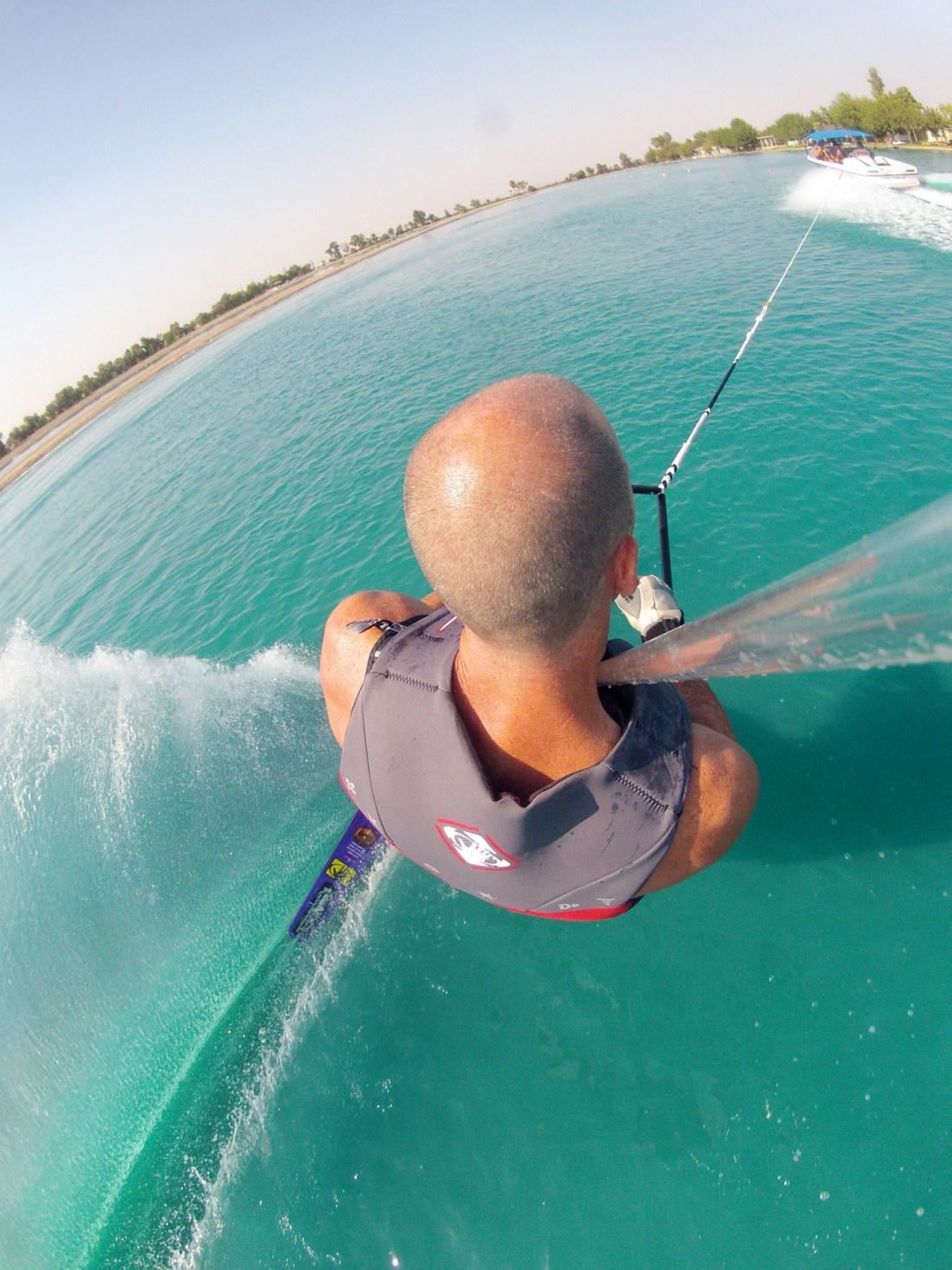 tony klarich gopro waterski slalom