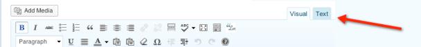 Tiny MCE editor