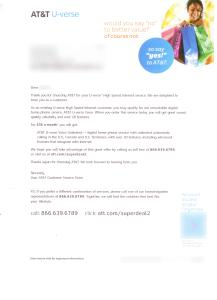 AT&T Letter
