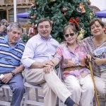 """Concursos, música y """"el mejor peinado"""" dieron vida a la celebración para el adulto mayor en Lo Barnechea"""