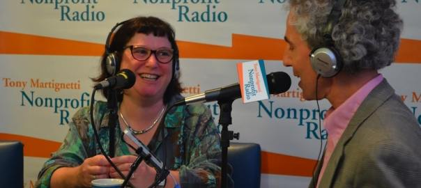 Interviewing Beth Kanter at Fundraising Day New York