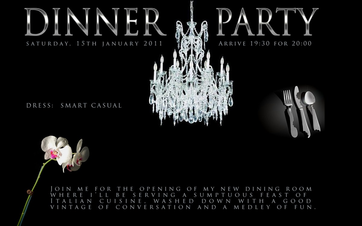 Rumour mill forces exclusive dinner party
