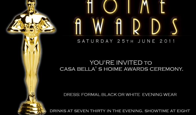 Casa Bella to host glitzy HOIME Awards (Here we go again!)