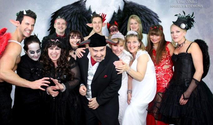 ANGELS & DEMONS PREMIERS AT CASA BELLA