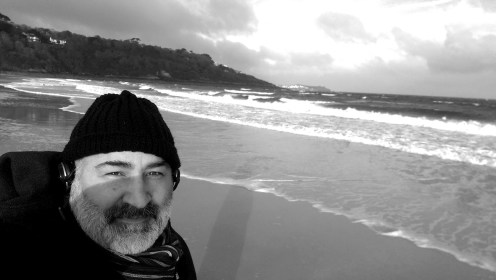 At Carbis Bay, England; writing Nimbus Hell on Earth