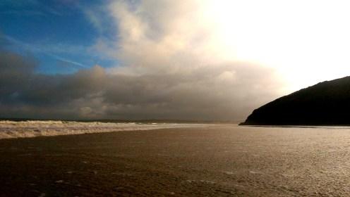Carbis Bay, England; writing Nimbus Hell on Earth