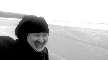 Braving Carbis Bay, England; writing Nimbus Hell on Earth