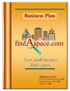 findAspace business plan cover