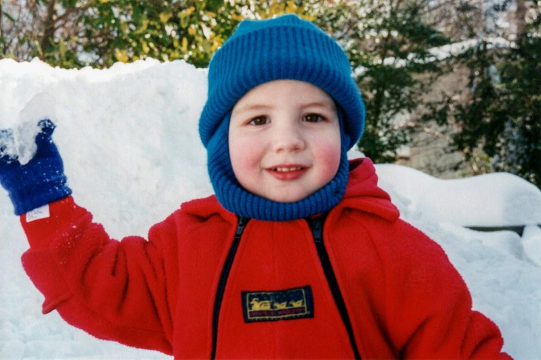 1995 Scott in snow