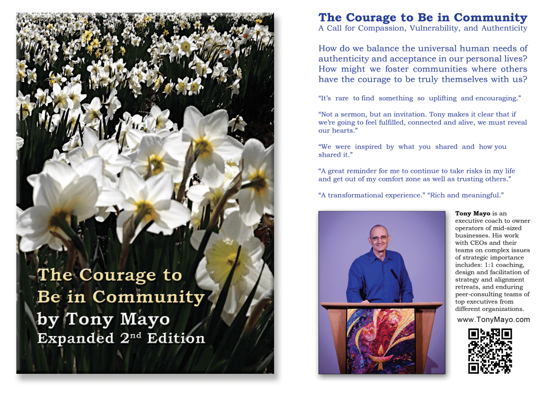 The Courage to Be in Community Expanded 2nd Edition