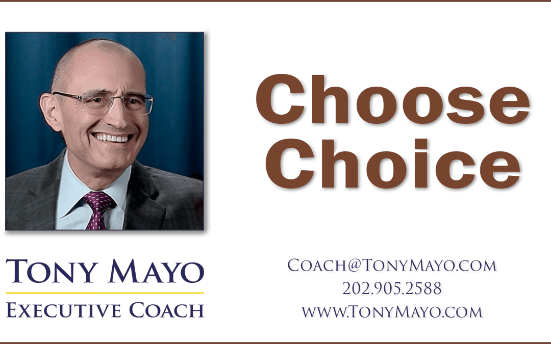 For You, It's a Choice • PODCAST