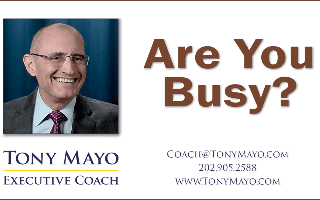 VIDEO: Are You Busy?