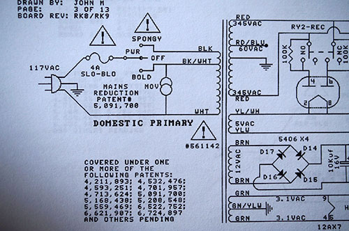 110 Volt Schematic Wiring Conversion 110v To 240v Mesa Boogie Road King Ii Tube