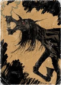 Back cover made for David James Keaton's new western novel PIG IRON, from Burnt Bridge Books.