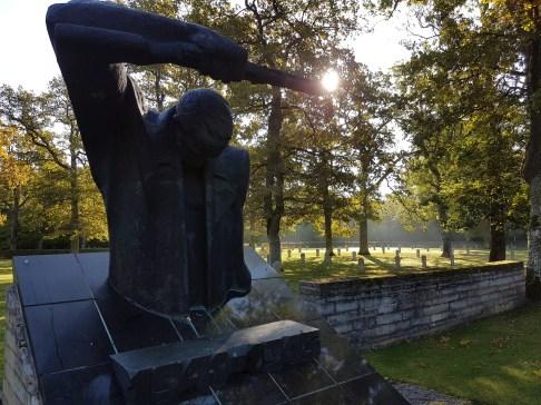 Soviet memorial, beside the German one