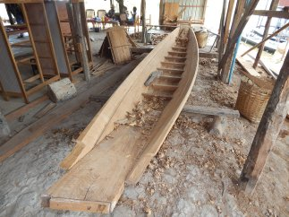 Smaller boat