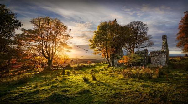 Autumn Landscape Photography Sunset