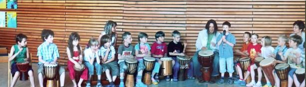 Evangeliche Schule in Gotha, Germany, Tony Natale