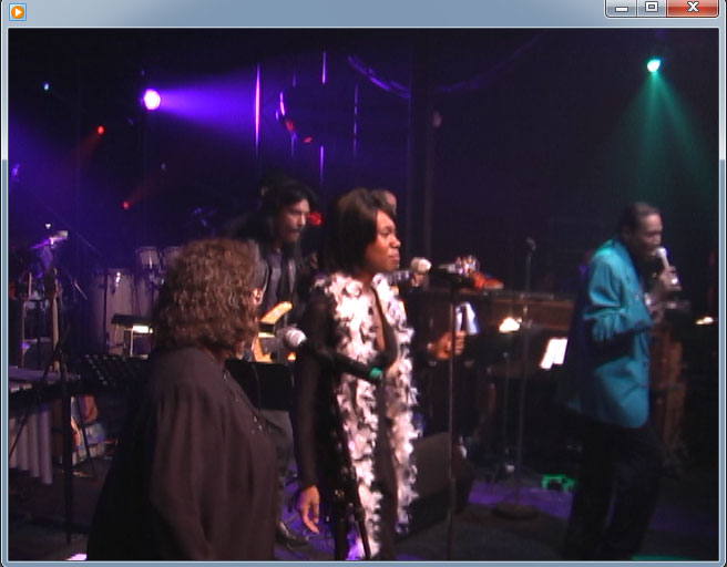 "Tony with the Jack Ashford Funk Bros in Montreal, CA. doing the Stevie Wonder Classic ""Signed Sealed Delivered"""