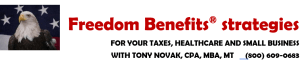 Freedom Benefits solutions with Tony Novak CPA, MBA, MT