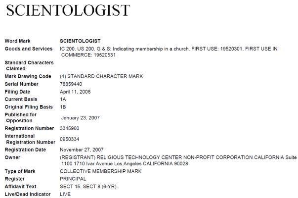 Scientologist