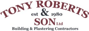 Tony Roberts and son Logo Tony Roberts and Son - Serving North Wales
