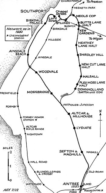 Southport & Cheshire Lines Extension Railway