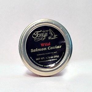 Tony's Wild Salmon Caviar