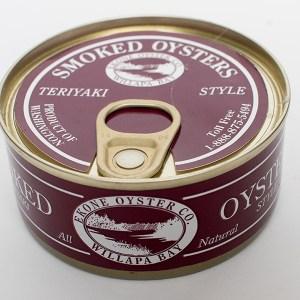 Smoked Oysters – Teriyaki