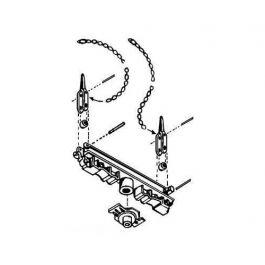 Kadee No 102-bab Log Bunk Skeleton Kit