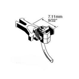 Kadee #17 Plastic Magne-Matic® HO NEM-362 European Style