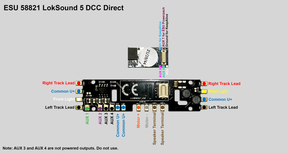 medium resolution of  dcc esu loksound 5 direct decoder wiring diagram news resources on dcc wiring tips